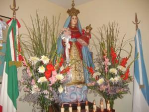 statua S. Maria del Rifugio - Buenos Aires
