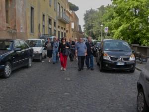 per le vie di Castel Gandolfo