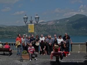il lago di Castel Gandolfo