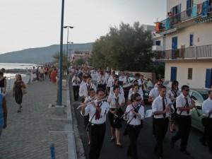 processione sul lungomare